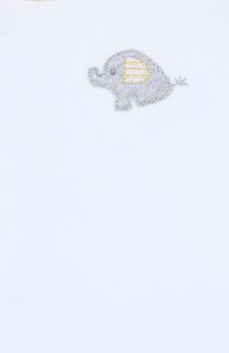 Хлопковый комплект из распашонки и ползунков Kissy Kissy