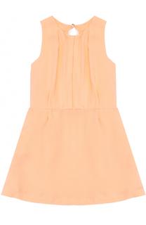 Платье без рукавов с фигурной отделкой на спине Chloé