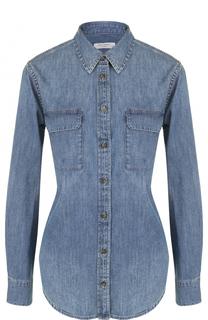 Джинсовая блуза с накладными карманами Equipment