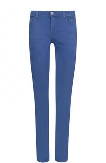 Однотонные джинсы прямого кроя Armani Jeans