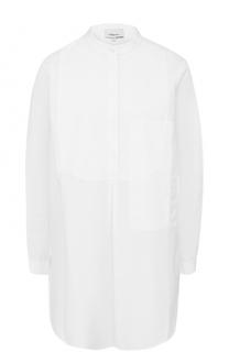 Удлиненная хлопковая блуза свободного кроя 3.1 Phillip Lim