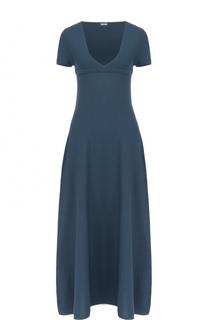 Вязаное платье-макси с завышенной талией malo
