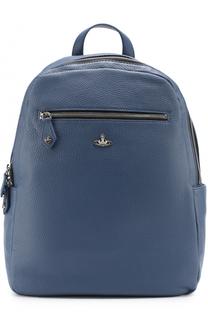 Кожаный рюкзак с внешними карманами на молнии Vivienne Westwood