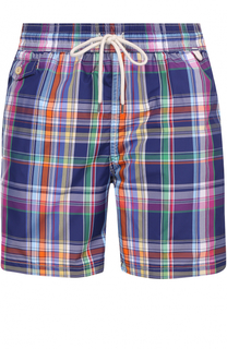 Плавки-шорты в клетку Polo Ralph Lauren