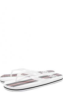 Резиновые шлепанцы с логотипом бренда Emporio Armani 95468454dea
