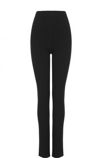Вязаные расклешенные брюки с завышенной талией Stella McCartney