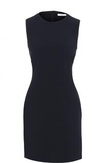 Приталенное мини-платье без рукавов HUGO