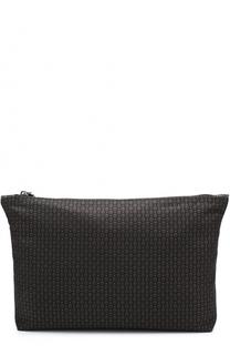 Текстильный несессер с принтом Alexander McQueen