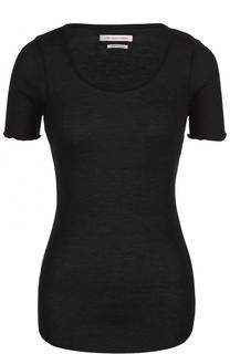 Облегающая футболка с круглым вырезом Isabel Marant Etoile