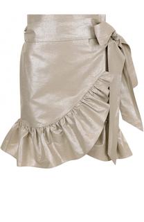 Мини-юбка с поясом и оборками Isabel Marant