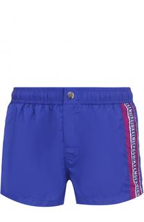 Плавки-шорты с логотипом бренда Dirk Bikkembergs