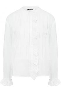 Блуза прямого кроя с оборками Isabel Marant