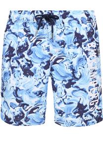 Плавки-шорты с принтом Dirk Bikkembergs