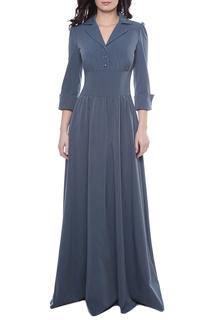 Платье с отложным воротником Olivegrey