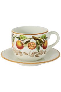 """Чашка с блюдцем """"Апельсины"""" LCS"""