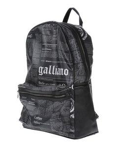 Рюкзаки и сумки на пояс Galliano