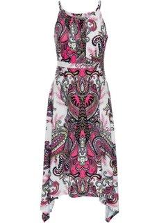 Летнее платье (цвет фуксии с узором) Bonprix