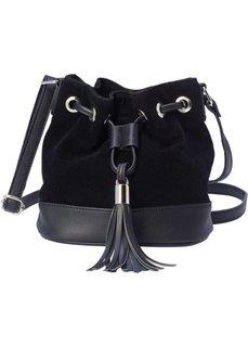 Небольшая сумка-мешок (черный) Bonprix