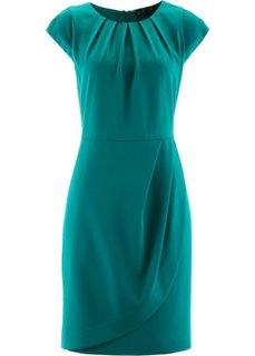 Платье-футляр (темно-изумрудный) Bonprix