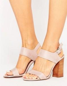Босоножки на блочном каблуке Call It Spring Peawia - Розовый