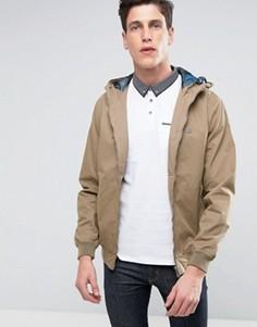 Куртка с капюшоном Threadbare - Светло-серый