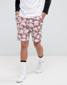 Красные шорты из быстросохнущей ткани Dri-FIT Nike SB Sunday Tourist 881849-637 - Красный
