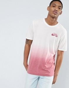 Красная футболка с эффектом деграде Nike SB Dri-FIT 841542-102 - Красный