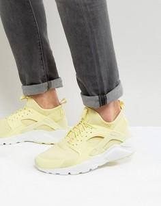 Желтые кроссовки Nike Huarache 833147-701 - Желтый