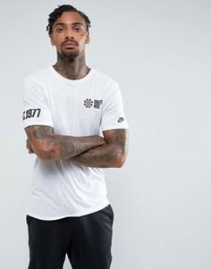 Белая футболка с принтом Nike 834644-101 - Белый