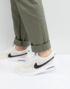 Белые кроссовки Nike SB Bruin Max Vapor 882097-101 - Белый
