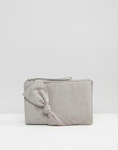 Клатч с ремешком на запястье Carvela Dame - Серый