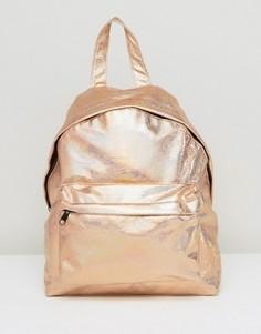 Рюкзак с голографическим эффектом ASOS - Золотой