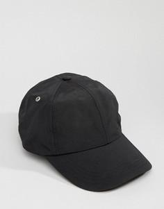 Нейлоновая бейсболка Systvm - Черный
