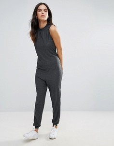 Комбинезон в стиле casual от Vero Moda - Серый