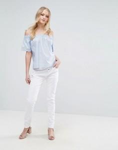 Свободные брюки чиносы Vero Moda - Белый