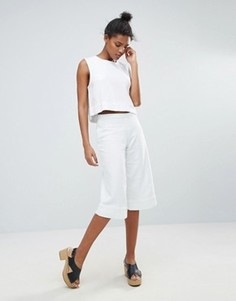 Свободная юбка-брюки Waven Vera - Белый