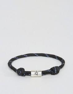 Черный браслет-шнурок Classics 77 - Черный