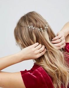 Украшение для волос ограниченной серии с цветочной отделкой - Золотой Asos