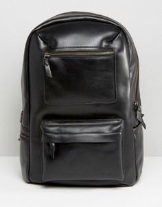 Кожаный рюкзак Royal Republiq Track - Черный