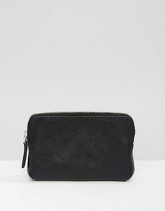 Кожаный кошелек для монет Royal Republiq Fuze - Черный