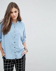 Рубашка с рукавами 3/4 Noisy May Alex - Синий