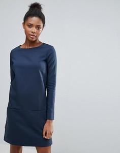 Платье с карманами Vila - Темно-синий
