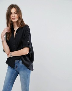 Рубашка с рукавами 3/4 Noisy May Alex - Черный