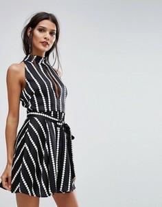 Платье Finders Carlos - Черный