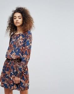 Платье с цветочным принтом Getsuz Penny - Синий Gestuz