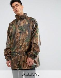 Куртка в стиле милитари с камуфляжным принтом Reclaimed Vintage Revived - Коричневый