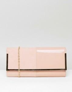 Светло-розовый клатч ALDO Faucheux - Розовый