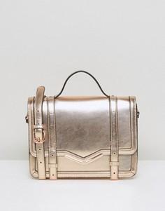 a54f26ad4f2e Женские кожаные сумки из золота – купить в Lookbuck