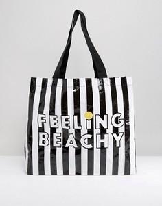 Пляжная сумка Monki - Черный