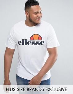 Футболка с классическим логотипом Ellesse PLUS - Белый